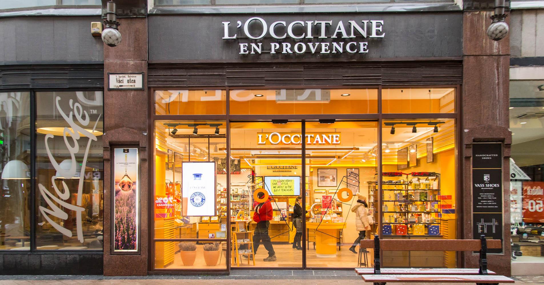 Provence-i hangulat a Váci utcában